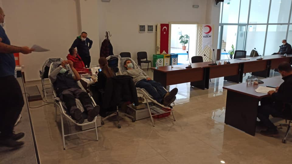 Kütahya 30 Ağustos OSB'den Kan Bağışı